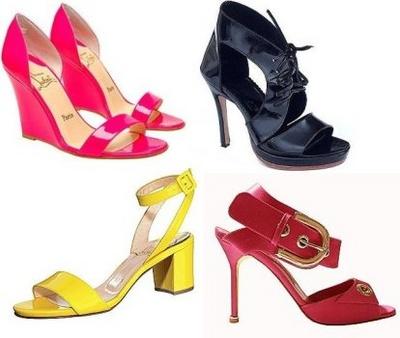 2008: Sandale la moda, modele, ce culori, tocuri, sandalute