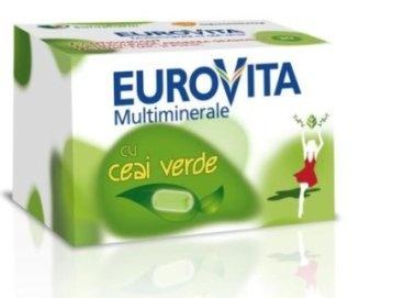 Eurovita Multiminerale cu Ceai Verde