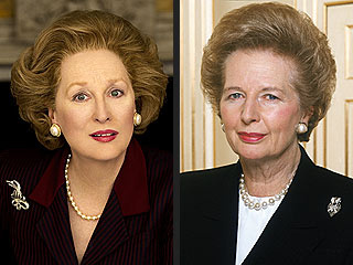 Meryl Streep in rolul Margaret Thatcher